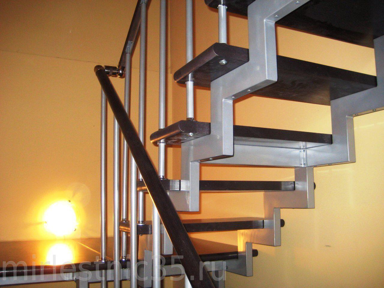 Модульная лестница своими руками из металла